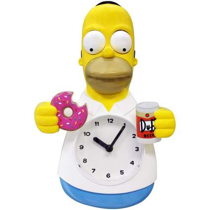 Homer Simpson 3D Motion Clock
