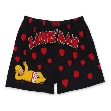 Simpsons Ladies' Man Boxer Shorts