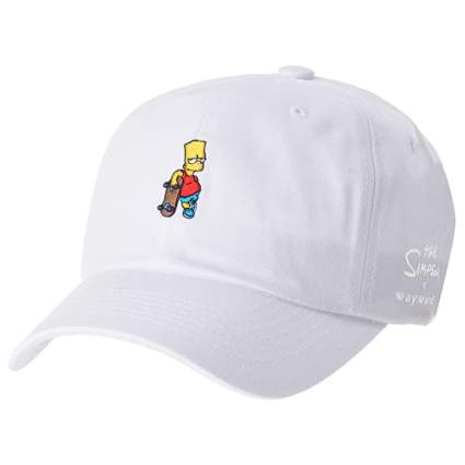 The Simpsons Bart Skateboard Ball Cap