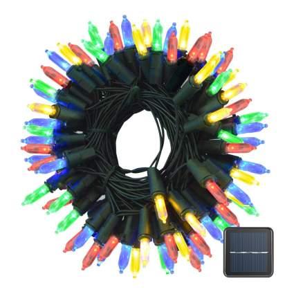 Bright multicolor string lights