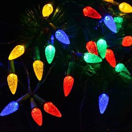 Traditional christmas lights