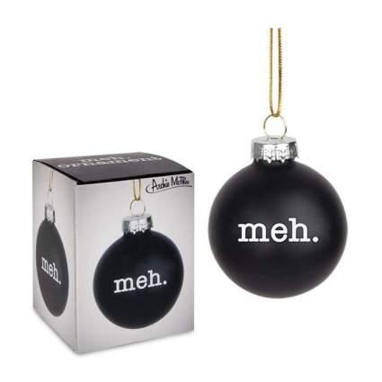 Black christmas ball ornaments