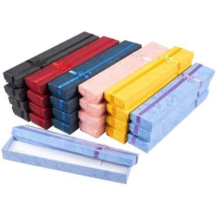 colorful bracelet boxes