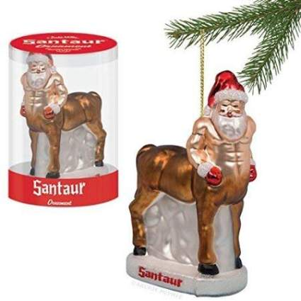 Santa as a centaur