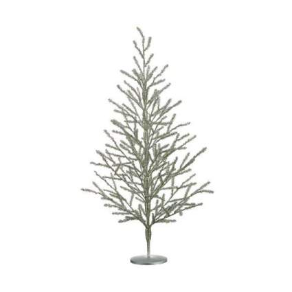 Silver tabletop tree