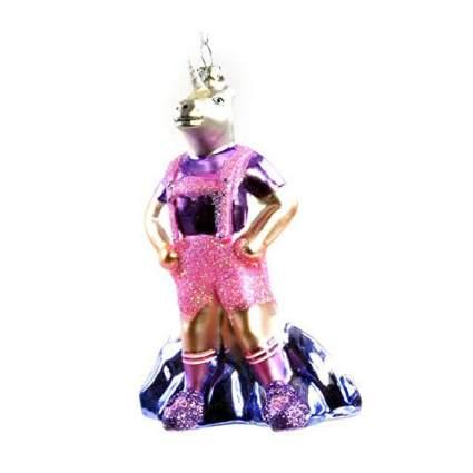 Unicorn in pink laderhosen