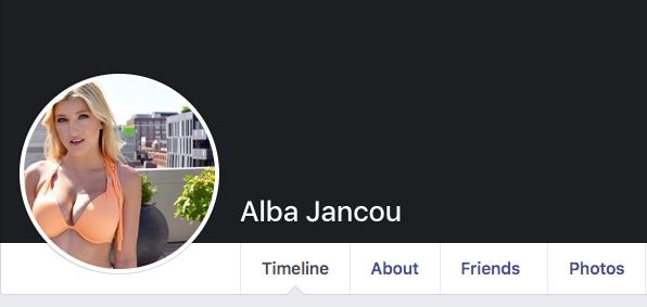 Alba Jancou Facebook page