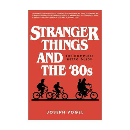 stranger things and the 80s book cover