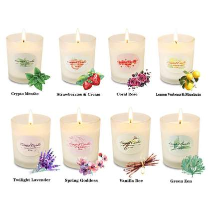 aromatherapy candle set for women
