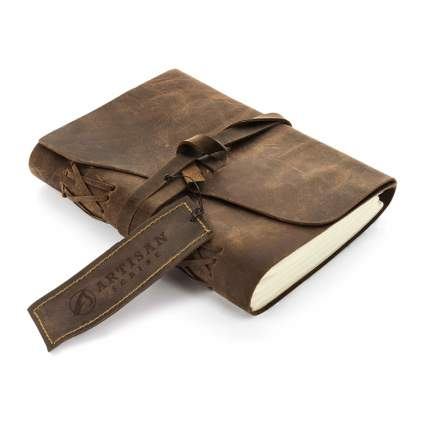 artisan scribe leather notebook