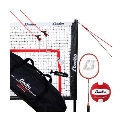 Baden Champions Volleyball & Badminton Combo Set