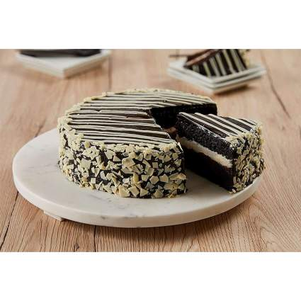 Bake Me A Wish Black and White Mousse Cake