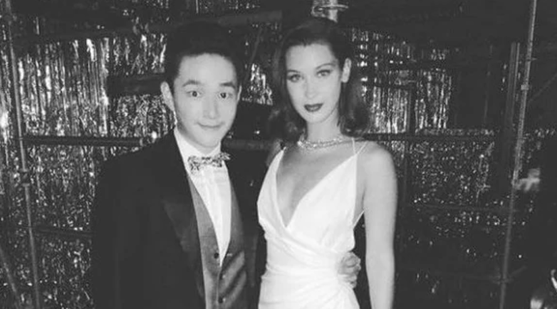 Eric Tse with Bella Hadid