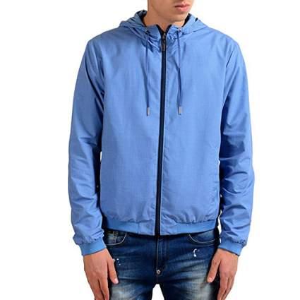 blue fendi jacket