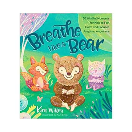 'Breathe Like a Bear: 30 Mindful Moments for Kids to Feel Calm and Focused Anytime, Anywhere' by Kira Willey