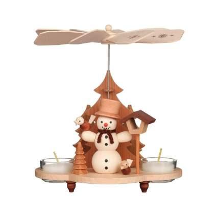 Christian Ulbricht Snowman German Christmas Pyramid