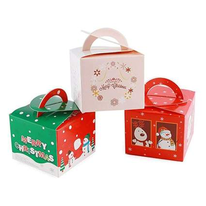 christmas candy gift boxes