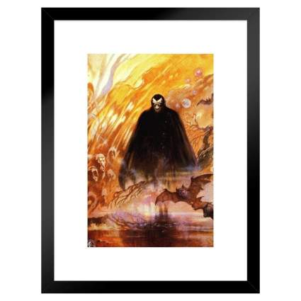 Count Dracula Framed Wall Art