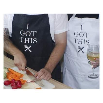 couples apron set