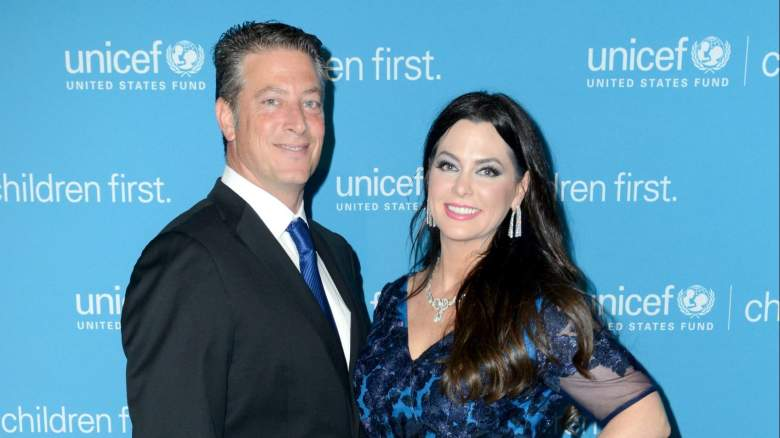 DAndra Simmons and husband Jeremy Lock attend an event in Dallas