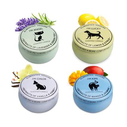 deodorizing candle gift set