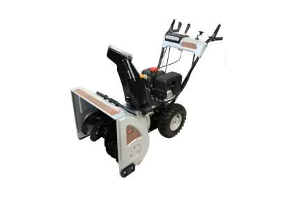 Dirty Hand Tools Two-Stage Gas Electric Start 24-Inch Snow Blower