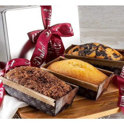 Dulcet Gift Baskets Assorted Loaf Cakes