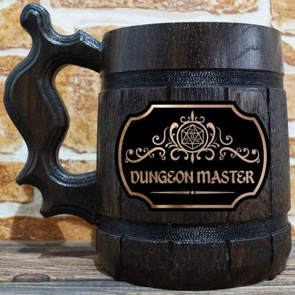 Dungeon Master Beer Mug