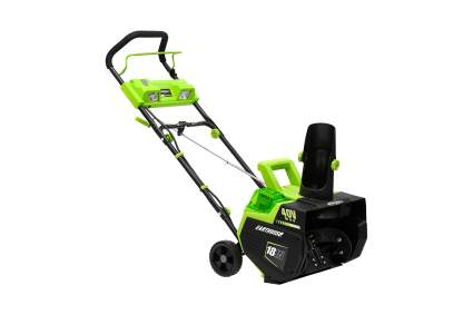 Earthwise Battery Powered 18-Inch Snow Blower
