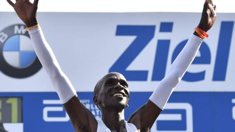 Eliud Kipchoge marathon runner