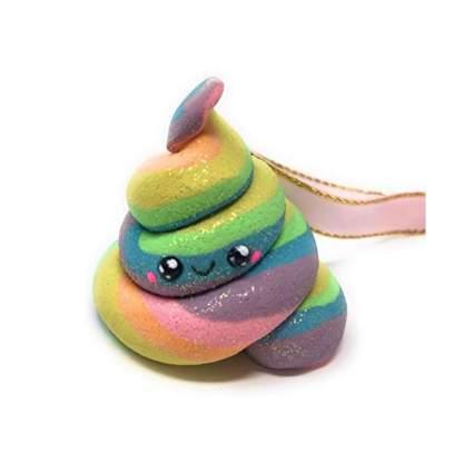 Emoji Style Unicorn Poop Christmas Ornament