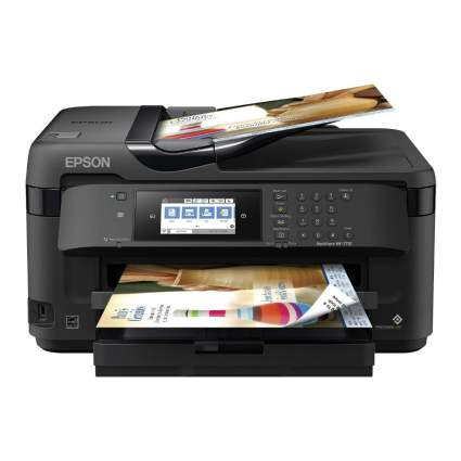 Epson Workforce Wireless Wide-Format Color Inkjet Printer