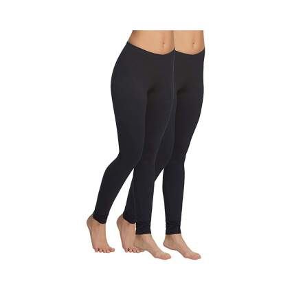 Felina Lightweight High Waisted Leggings (2 pack)