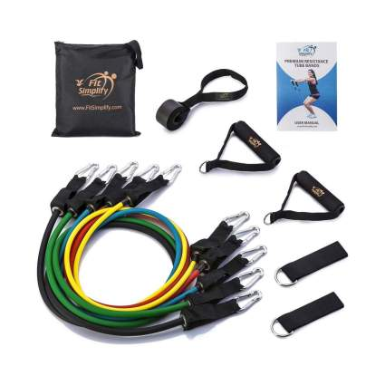 Fit Simplify 12 Piece Resistance Band Set