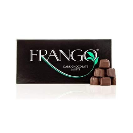 dark chocolate mints