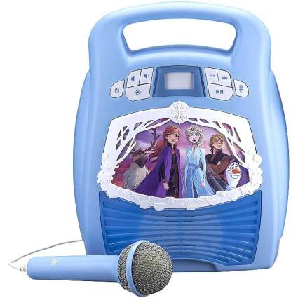 Frozen 2 karaoke machine