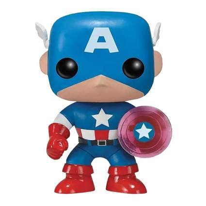 Funko Pop! Marvel 75th Anniversary: Captain America with Photon Shield