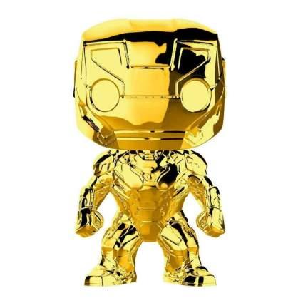 Funko Pop! Marvel: Marvel Studios 10 - Iron Man (Gold Chrome)