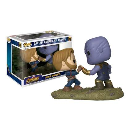 Funko Pop! Marvel Movie Moments: Avengers Infinity War - Captain America vs. Thanos