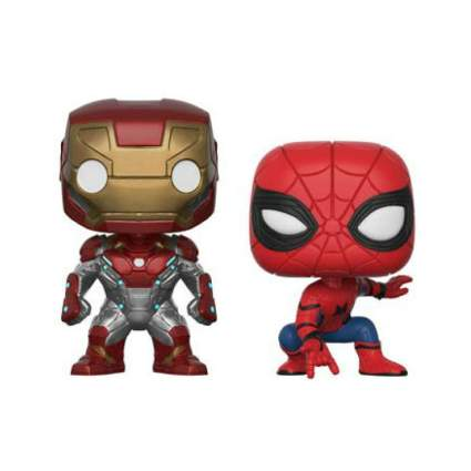 Funko Pop! Marvel: Spider-Man Homecoming - Iron Man & Spider-Man 2-Pack