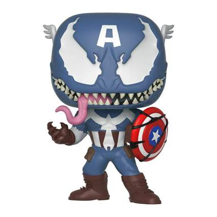 Funko Pop! Marvel: Venom - Venom Captain America