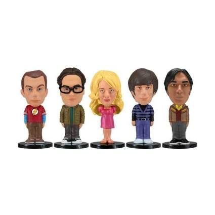 Funko The Big Bang Theory Mini Wacky Wobbler Set