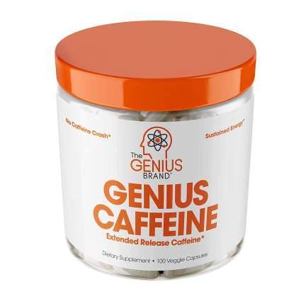 Genius Caffeine Extended Release Caffeine Pills