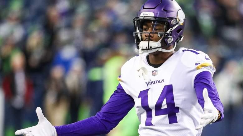 Minnesota Vikings wide receiver Stefon Diggs fueled trade rumors