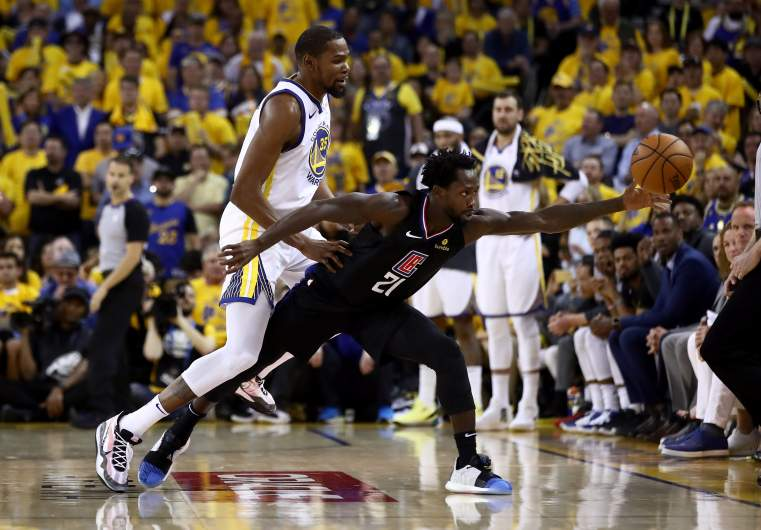 Kevin Durant, Patrick Beverley
