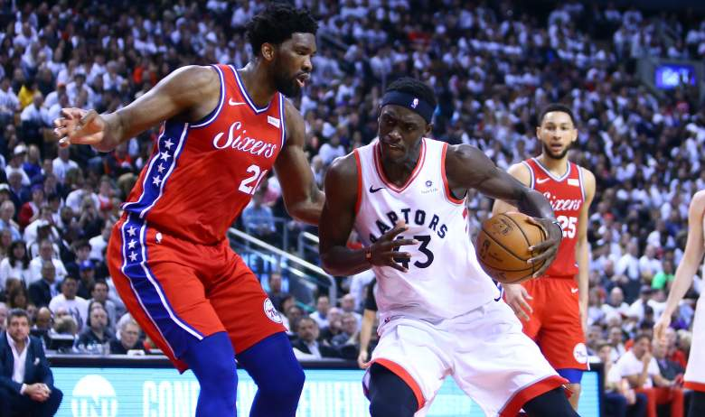 Joel Embiid, Sixers and Pascal Siakam, Raptors