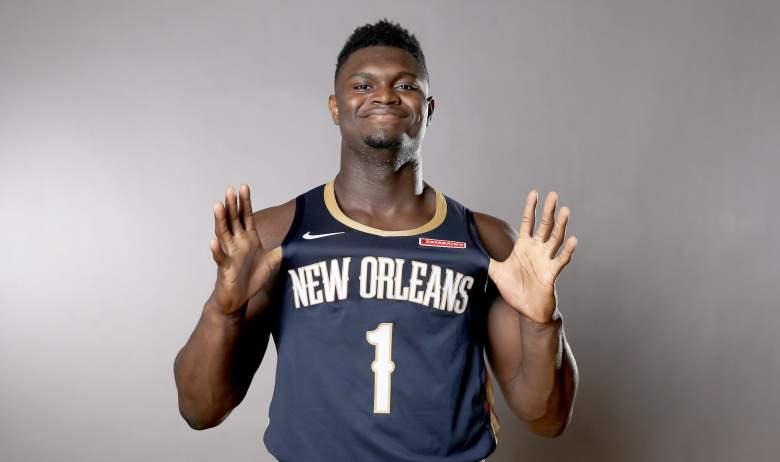 Zion Williamson, Pelicans