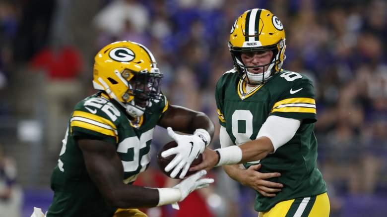 Dexter Williams Rookie Debut Packers