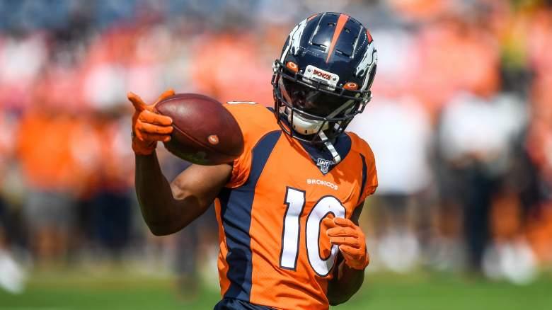 Emmanuel Sanders Packers Broncos Trade Possibility