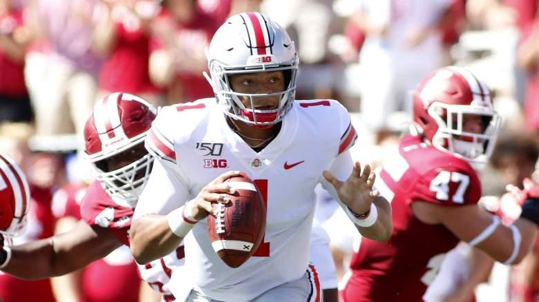 Justin Fields Ohio State Northwestern Prediction Week 7